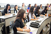 Mirna Cereceres during the first event of the Mihaylo College of Business and Economics Women's Leadership Program at California State University Fullerton  on Friday, Nov. 6, 2015 in Fullerton, California.