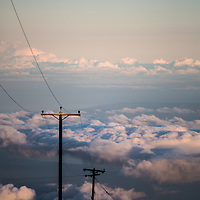 Haleakala | Maui, Hawaii | Above the Clouds + Powerlines | Cultural Landscape | Climate Stories | Conservation Photographer <br /> <br /> Drew Bird Photography <br /> San Francisco Freelance Photographer <br /> Have Camera. Will Travel.
