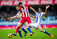 Real Sociedad de Futbol vs Atletico Madrid