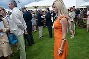 TINSLEY MORTIMER, Cartier International Polo Day at the Guards Polo Club. Windsor. July 26  2009