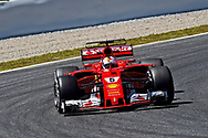 Sebastian Vettel of Scuderia Ferrari during the practice session of the Spanish Formula One Grand Prix at Circuit de Catalunya, Barcelona, Spain.<br /> Picture by EXPA Pictures/Focus Images Ltd 07814482222<br /> 12/05/2017<br /> *** UK &amp; IRELAND ONLY ***<br /> <br /> EXPA-EIB-170512-0181.jpg
