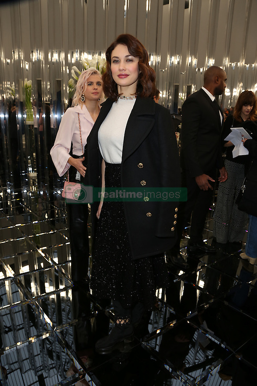Olga Kurylenko attend the Chanel Couture Spring Summer 2017 show as part of Paris Fashion Week on January 24, 2017 in Paris, France. Photo by Jerome Domine/ABACAPRESS.COM