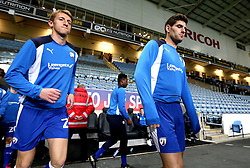 Ched Evans of Chesterfield walks out at The Ricoh Arena to warm up for the League One fixture against Coventry City - Mandatory by-line: Robbie Stephenson/JMP - 01/11/2016 - FOOTBALL - Ricoh Arena - Coventry, England - Coventry City v Chesterfield - Sky Bet League One
