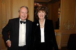 The EARL & COUNTESS DE LA WARR at the Cartier Racing Awards 2006 held at the Four Seasons Hotel, Hamilton Place, London on 15th November 2006.<br />
