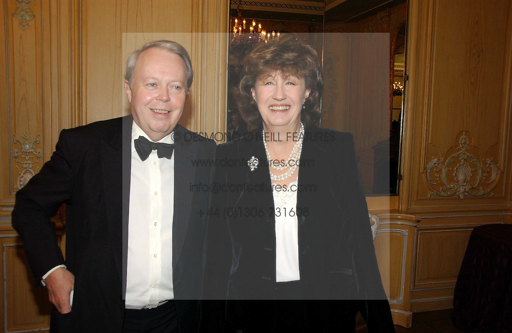 The EARL & COUNTESS DE LA WARR at the Cartier Racing Awards 2006 held at the Four Seasons Hotel, Hamilton Place, London on 15th November 2006.<br /><br />NON EXCLUSIVE - WORLD RIGHTS