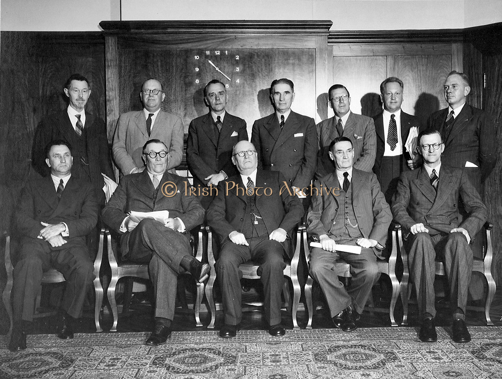 National party, Government of South Africa. Prime Minister Magnus Malan seated centre(1948)
