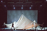 Cullberg Ballet with Plateau Effect at Sadler's Wells Theatre, London. A new work by Dutch/Swedish choreographer Jefta van Dither. This is the closing production of Sadler's Wells' Northern Lights season, celebrating Nordic dance. ©Tony Nandi 2014