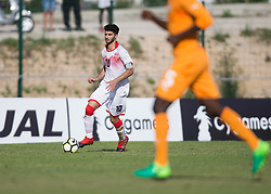 AUBAGNE, FRANCE - Tuesday, May 30, 2017: Bahrain's Ali Yusuf Hardan Mohamed in action during the Toulon Tournament Group B match between Bahrain and Ivory Coast at the Stade de Lattre-de-Tassigny. (Pic by Laura Malkin/Propaganda)