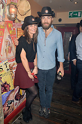 PIPPA MIDDLETON and JAMES MIDDLETON at a party to celebrate the opening of Beaver Lodge, a new bar & club from the Inception Group at 266 Fulham Road, London SW10 on 4th December 2014.