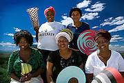 Clockwise from top left: Vava Ngubane; Bavumile Nkwanyana; Jaheni Mkhize; Zeni Sabeth Masina; Mabongi Mkhize