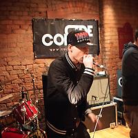 Coldside  performing live at FrankFest, Jabez Clegg, Manchester, 2012-03-31