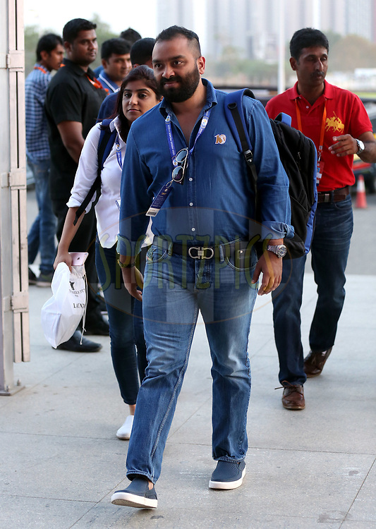 BCCI Official during match 30 of the Vivo 2017 Indian Premier League between the Rising Pune Supergiants and the Kolkata Knight Riders  held at the MCA Pune International Cricket Stadium in Pune, India on the 26th April 2017<br /> <br /> Photo by Sandeep Shetty - Sportzpics - IPL