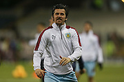 Burnley midfielder Joey Barton  during the Sky Bet Championship match between Burnley and Nottingham Forest at Turf Moor, Burnley, England on 23 February 2016. Photo by Simon Davies.