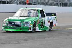 June 22, 2018 - Madison, Illinois, U.S. - MADISON, IL - JUNE 22:  Ben Rhodes (41) driving a Ford warms up before the Camping World Truck Series - Eaton 200 on June 22, 2018, at Gateway Motorsports Park, Madison, IL.   (Photo by Keith Gillett/Icon Sportswire) (Credit Image: © Keith Gillett/Icon SMI via ZUMA Press)