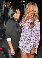 LONDON - August 07: Shola Ama & Sadie Ama at The Rose Club in London (Photo by Brett D. Cove)