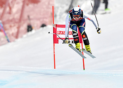 08.03.2017, Are, SWE, FIS Ski Alpin Junioren WM, Are 2017, Damen, Abfahrt, im Bild Lisa Hörnbblad, Höga Kusten fyra, 12 hudrdadelar från bronset // during ladie's Downhill of the FIS Junior World Ski Championships 2017. Are, Sweden on 2017/03/08. EXPA Pictures © 2017, PhotoCredit: EXPA/ Nisse<br /> <br /> *****ATTENTION - OUT of SWE*****