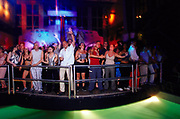 Clubbers at Manumission, Privilege, Ibiza June 2001