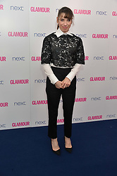 SALLY HAWKINS at the Glamour Women of The Year Awards in Association with Next held in Berkeley Square Gardens, Berkeley Square, London on 3rd June 2014.