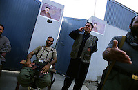 Kabul, 13 August 2008..Security Guards on duty at a the residence of a Parliament's  candidate.