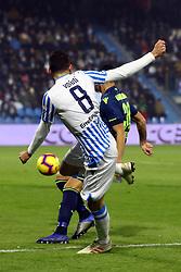 """Foto /Filippo Rubin<br /> 26/12/2018 Ferrara (Italia)<br /> Sport Calcio<br /> Spal - Udinese - Campionato di calcio Serie A 2018/2019 - Stadio """"Paolo Mazza""""<br /> Nella foto: MATTIA VALOTI (SPAL)<br /> <br /> Photo /Filippo Rubin<br /> December 26, 2018 Ferrara (Italy)<br /> Sport Soccer<br /> Spal vs Udinese - Italian Football Championship League A 2018/2019 - """"Paolo Mazza"""" Stadium <br /> In the pic: MATTIA VALOTI (SPAL)"""