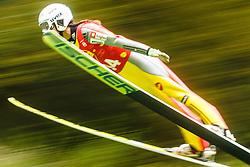 Maja Vtic during national competition in Ski Jumping, 8th of October, 2016, Kranj,  Slovenia. Photo by Grega Valancic / Sportida