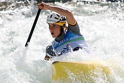 Michaela Grimm of Germany in the Women's Canoe C-1 at ICF Canoe Slalom World Championships - Sloka 2010 on September 12, 2010 in Tacen, Ljubljana, Slovenia (Photo by Matic Klansek Velej / Sportida)