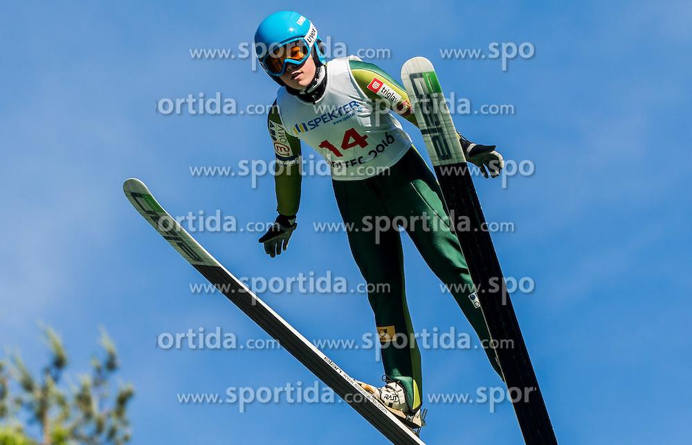 Jerneja Repinec Župančič (SLO) during Ski jumping Summer cup - 45. Revija skokov Mostec on June 4, 2016 in Mostec hill, Ljubljana, Slovenia.Photo by Vid Ponikvar / Sportida
