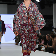 Designer Jessica Cooke at the Best of Graduate Fashion Week showcases at the Graduate Fashion Week 2018, June 6 2018 at Truman Brewery, London, UK.
