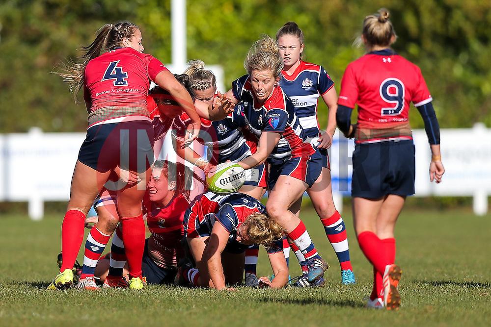 - Rogan Thomson/JMP - 16/10/2016 - RUGBY UNION - Cleve RFC - Bristol, England - Bristol Ladies Rugby v Lichfield Ladies - RFU Women's Premiership.