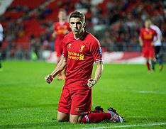 131007 Liverpool U21 v Tottenham U21