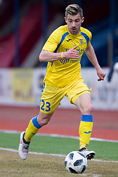 Dario Melnjak of NK Domzale during football match between NK Domzale and NK Aluminij in Round #24 of Prva liga Telekom Slovenije 2017/18, on March 18, 2018 in Sports park Domzale, Domzale, Slovenia. Photo by Urban Urbanc / Sportida