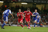 Wales v Liechtenstein, 2010 Fifa World Cup qualifier at the Millennium Stadium in Cardiff on Saturday 11th October 2008.