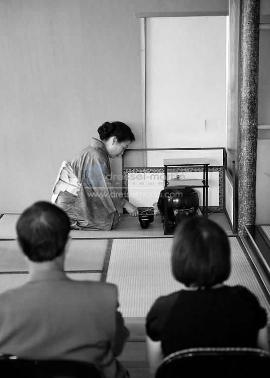 The Japanese Tea Ceremony Tradition as presented by The Tea Ceremony Guild, Sho-Fu-Kai at the Denver Botanic Gardens Sho-Fu-En Japanese Garden.