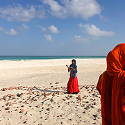Amek beach, south coast, Socotra island, listed as World Heritage by UNESCO, Aden Governorate, Yemen, Arabia, West Asia