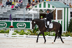 Jose Lorquet, (BEL), Fly Over 0009 - Individual Test Grade Ib Para Dressage - Alltech FEI World Equestrian Games™ 2014 - Normandy, France.<br /> © Hippo Foto Team - Jon Stroud <br /> 25/06/14