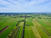 Nederland, Zuid-Holland, Zoetermeer, 14-09-2019; Zoetermeersche Meerpolder (Zoetermeerse Meerpolder), gezien naar Stompwijk en A4. Droogmakerij.<br /> Zoetermeersche Meerpolder (Zoetermeerse Meerpolder), seen to Stompwijk and A4.<br /> <br /> luchtfoto (toeslag op standard tarieven);<br /> aerial photo (additional fee required);<br /> copyright foto/photo Siebe Swart