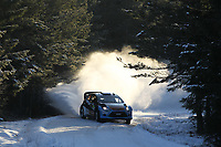 MOTORSPORT - WORLD RALLY CHAMPIONSHIP 2012 - RALLY SWEDEN / RALLYE DE SUEDE - 08 TO 12/02/2012 - KARLSTAD (SWE) - PHOTO : FRANCOIS BAUDIN /  DPPI - MADS OSTBERG FORD FIESTA WRC ACTION