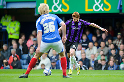 Matt Harrold (ENG) of Bristol Rovers in action before shooting and scoring a goal - Photo mandatory by-line: Rogan Thomson/JMP - 07966 386802 - 19/04/2014 - SPORT - FOOTBALL - Fratton Park, Portsmouth - Portsmouth FC v Bristol Rovers - Sky Bet Football League 2.
