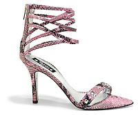 tracey ross pink alligator heel