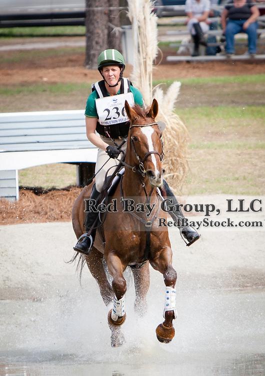 Colleen Loach (CAN) and Freespirit at the Carolina International in Raeford, North Carolina.