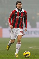 "Riccardo Montolivo Milan, Milano 24/2/2013 .Stadio ""S.Siro"".Football Calcio 2012/2013 Serie A.Inter Vs Milan.Foto Marco Bertorello Insidefoto"