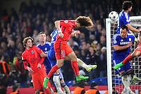 But David LUIZ - 11.03.2015 - Chelsea / Paris Saint Germain - 1/8Finale retour Champions League<br /> Photo : Johnny Fidelin / Icon Sport