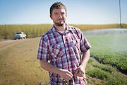 Jake Madison of Madison Farms in Echo, Oregon