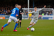Portsmouth midfielder Andy Cannon (14) in action  during the EFL Sky Bet League 1 match between Peterborough United and Portsmouth at London Road, Peterborough, England on 7 March 2020.