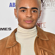 Layton Williams attends Raindance Film Festival Gay Times Gala screening - George Michael: Freedom (The Director's Cut) London, UK. 4th October 2018.