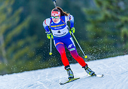 15.01.2020, Chiemgau Arena, Ruhpolding, GER, IBU Weltcup Biathlon, Sprint, Damen, im Bild Paulina Fialkova (SVK) // Paulina Fialkova of Slovakia during the women sprint competition of BMW IBU Biathlon World Cup at the Chiemgau Arena in Ruhpolding, Germany on 2020/01/15. EXPA Pictures © 2020, PhotoCredit: EXPA/ Stefan Adelsberger