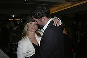 Tamzin Outhwaite and Tom Ellis, The 25th hour post party at the Plaza on the River, 18 Albert Embankment. Culmination of the 24 Hour Plays Celebrity Gala at the Old Vic.London. 8 October 2006.  -DO NOT ARCHIVE-© Copyright Photograph by Dafydd Jones 66 Stockwell Park Rd. London SW9 0DA Tel 020 7733 0108 www.dafjones.com