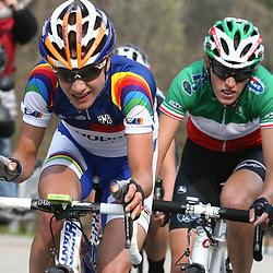 Sportfoto archief 2012<br /> Marianne Vos,Evelyn Stevens en Noemi CanteleS