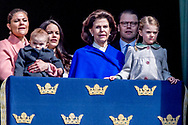 30-4-2017 STOCKHOLM - , The King's birthday<br /> The King, The Queen, The Crown Princess, Prince Daniel, Prince Carl Philip, Princess Sofia <br /> Crown Princess Victoria of Sweden, prince Oscar Carl Olof, Princess Estelle, Prince Daniel, Princess Sofia, Prince Carl Philip, King Carl Gustaf and Queen Silvia King Carl Gustaf, Queen Silvia, Crown Princess Victoria, Prince Daniel, Prince Carl Philip, Princess Madeleine and Chris O'Neill The Swedish Armed Forces' celebration – The Outer Courtyard celebration of The King's 70th birthday celebration of The King's 71th birthday STOCKHOLM COPYRIGHT ROBIN UTRECHT 30-4-2017 - prinses Beatrix Chris O'Neill, Prinses Madeleine van Zweden, Kroonprinses Victoria van Zweden, Oscar Carl Olof, Prinses Estelle, Prins Daniel, Princess Sofia, prins Carl Philip, koning Carl Gustaf en koningin Silvia Koning Carl Gustaf , koningin Silvia, kroonprinses Victoria, Prins Daniel, prins Carl Philip, prinses Madeleine en Chris O'Neill De Zweedse strijdkrachten 'viering - The Outer Courtyard viering van The King's 71ste verjaardag viering van de koning van zweden 70ste verjaardag