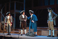 """Dress rehearsal for """"Marking the Moment"""" presented by the Education Theatre Collaborative at Plymouth State University January 22, 2013.  (Karen Bobotas/for the Laconia Daily Sun)"""
